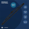 "Curved Wiper Blade, 12"" - FIVE OCEANS"