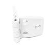 White Plastic Door Hinge, 2-7/8 x 1-3/8 inches (4-Pack) FO-79-M4