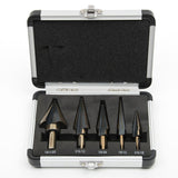 5pcs Hss Cobalt Multiple Hole with Aluminum Case