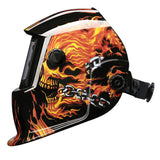 Skull Solar Electric Welding Mask