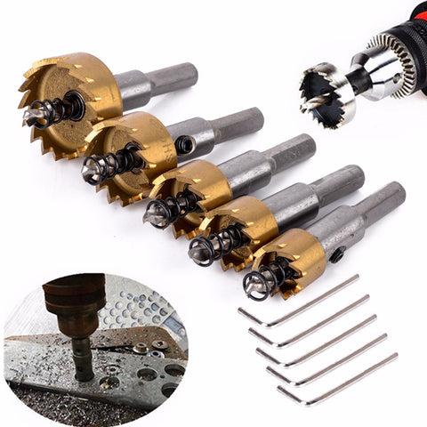 HOLE SAW DRILL BIT SET