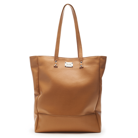Sac shopping vegan Magnethik camel, vegan shopping bag, par Importations Lou au Canada