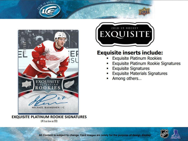 LAST CASE MOJO! 2018/19 Upper Deck ICE Hockey - 20-Box Master Case Break - Pick-Your-Teams #3 (BOX OF ICE GIVEAWAY)