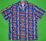 Woodie, Board, and Lei Panel Shirt