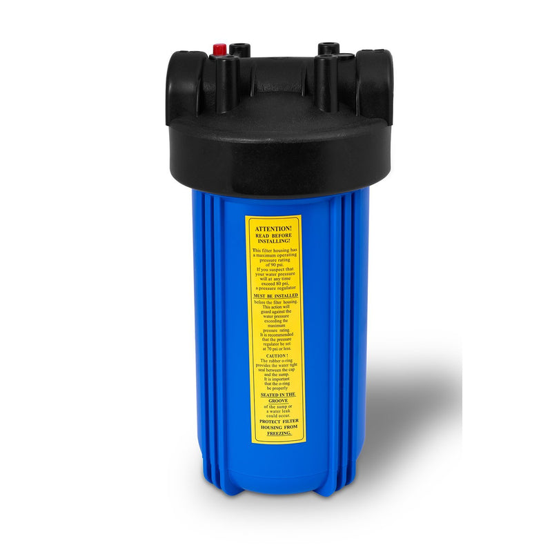 10 Inch Big Blue 5 Micron Sediment Whole House Water Filter Housing