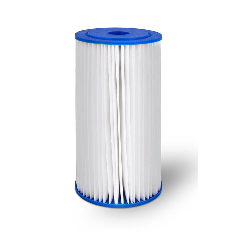 10 Inch Transparent 5 Micron Pleated Sediment Whole House Water Filter Cartridge