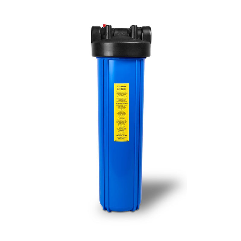 20 Inch Big Blue 5 Micron Activated Carbon Block Whole House Water Filter Housing