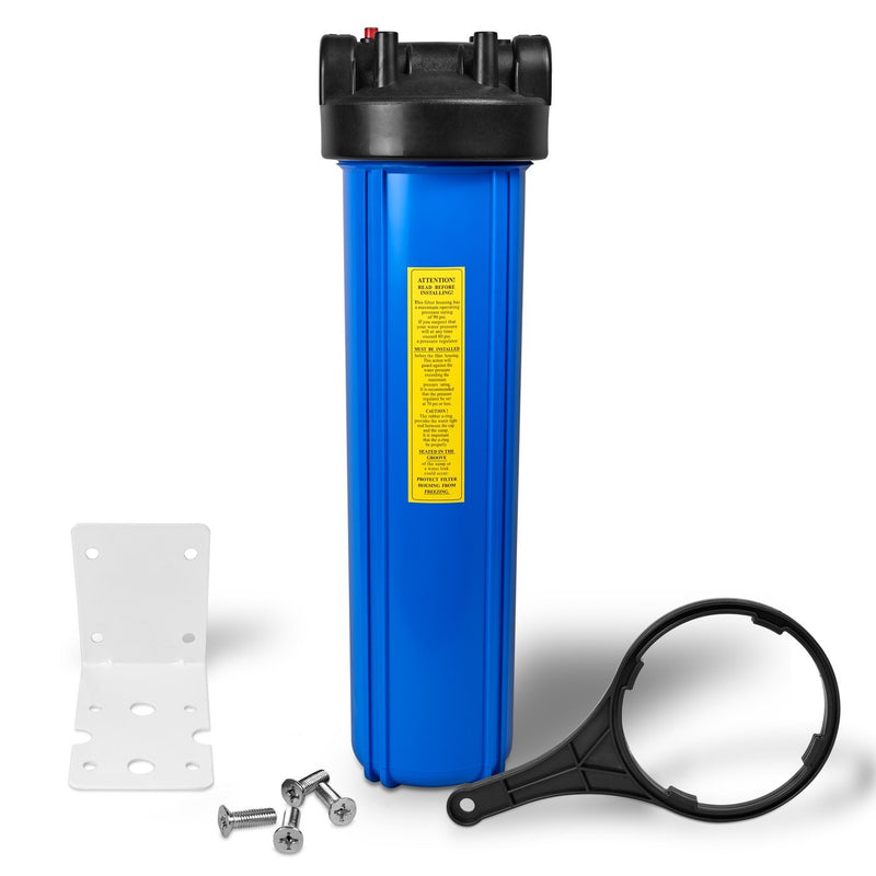 20 Inch Big Blue Whole House Water Filter Housing with Mounting Equipment