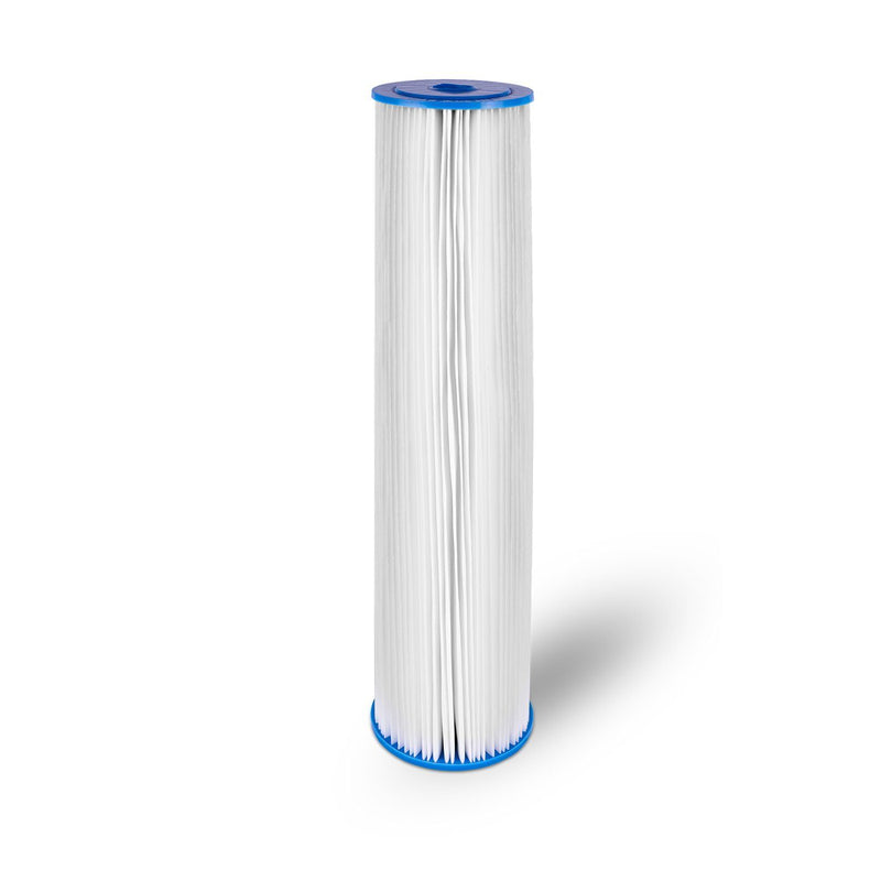 20 Inch Transparent 5 Micron Pleated Sediment Whole House Water Filter Cartridge
