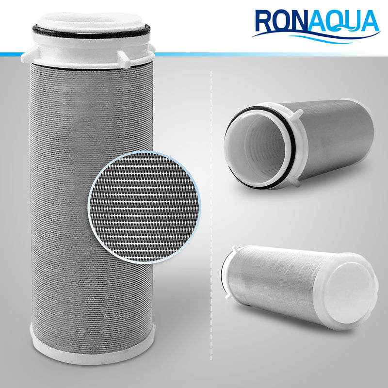 Reusable Whole House Spin Down Pre-Filter to Remove Sediment, Rust, Sand from the Water, 40 Micron, ¾ or 1 Inch Inlet/Outlet
