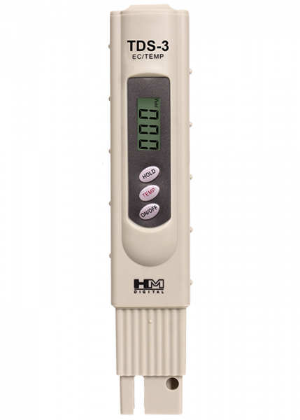 5- 1 ppm Resolution HM Digital TDS-4 Pocket Size TDS Tester Meter with 0-9990 ppm Measurement Range 2/% Readout Accuracy Pack
