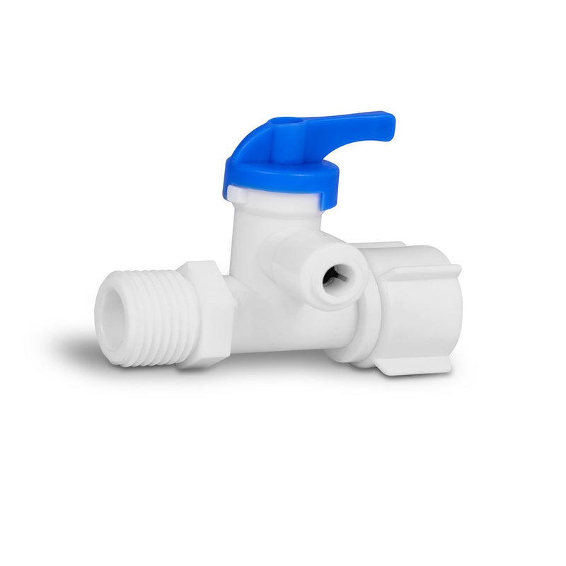 Under the Sink Direct Connect Two-Stage Water System Feed Adapter