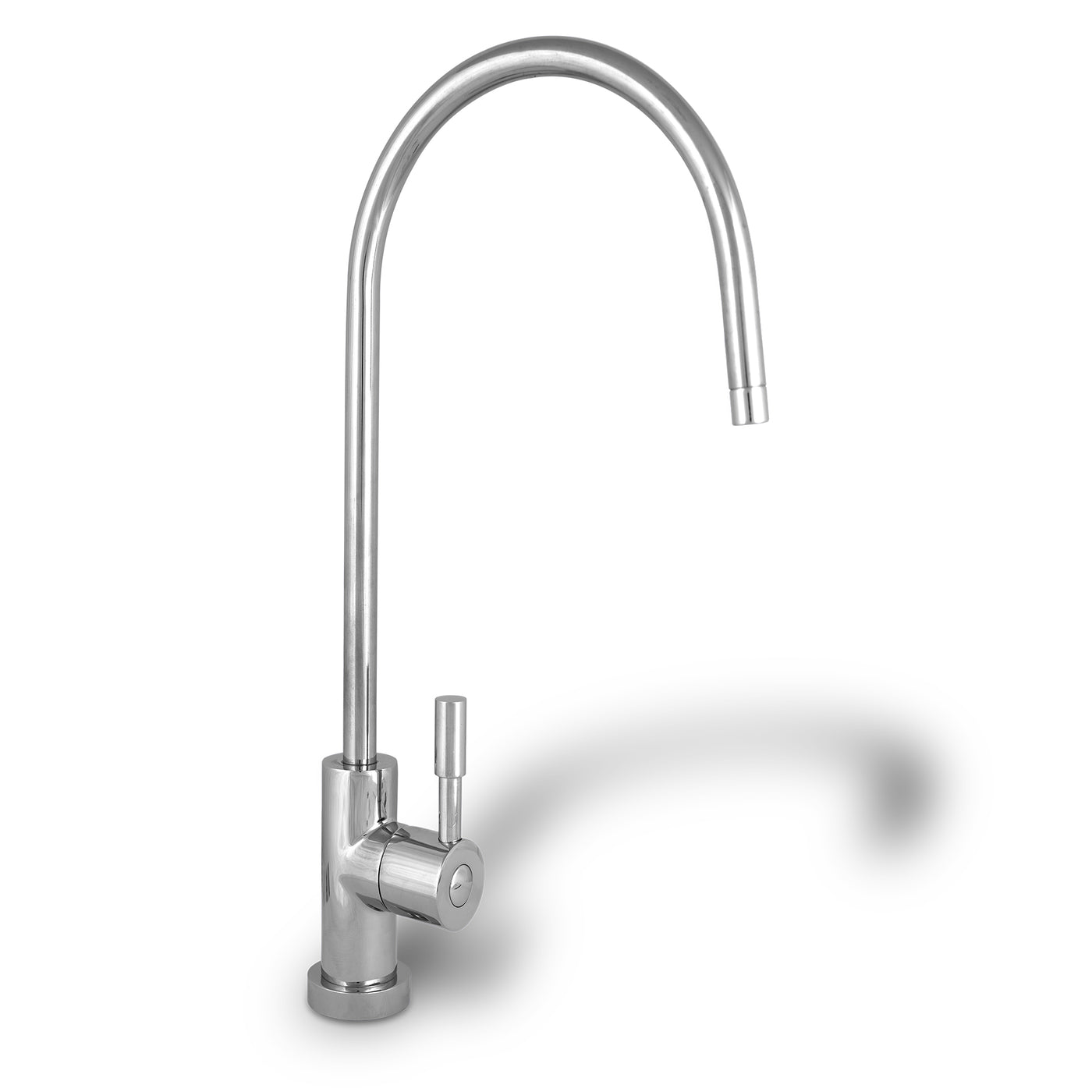 Polished Chrome European High Spout Drinking Water Faucet | RONAQUA