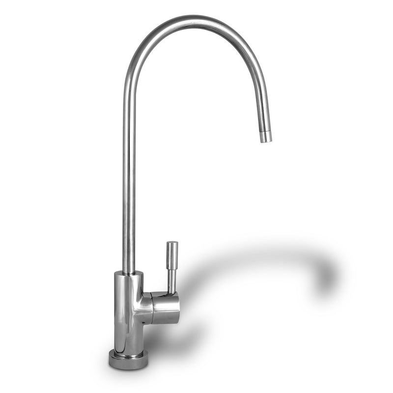 Polished Chrome European High Spout Drinking Water Faucet