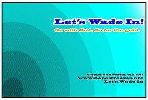 Donate - Let's Wade In ($25) - Hope Streams