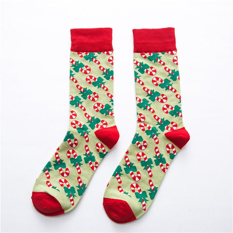 Image of Candy Cane Socks