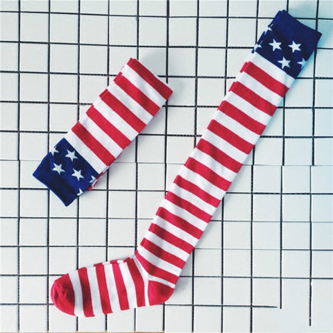 USA Knee Socks