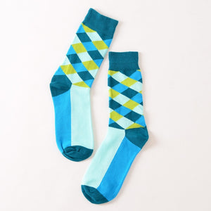 Blue Diamond Socks