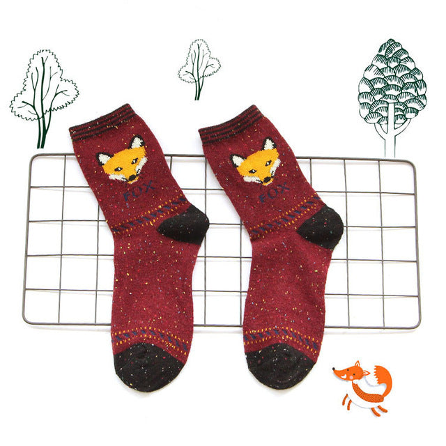 Red Fox Socks