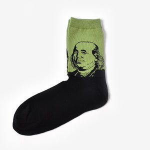 Benjamin Franklin Socks