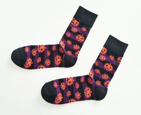 Pumpkin Socks