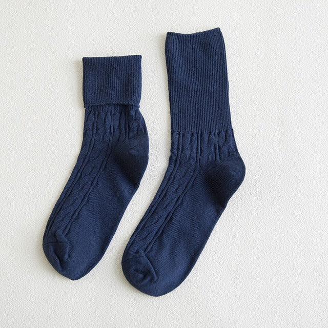 Retro Blue Socks