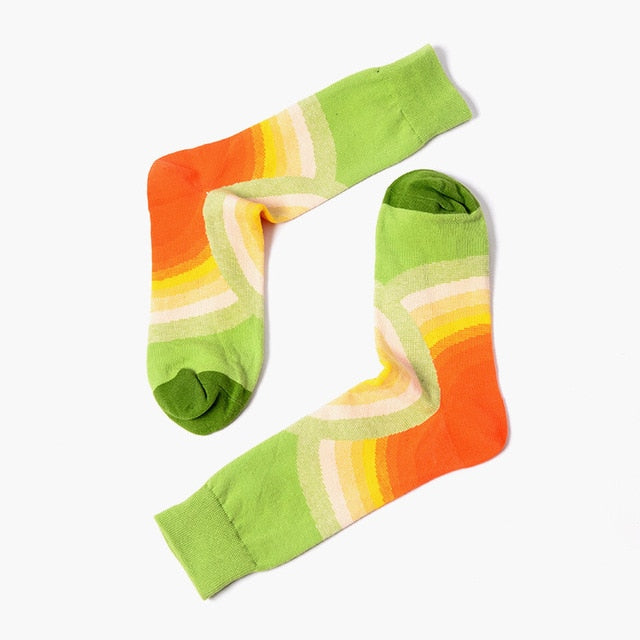 Green Gradient Socks