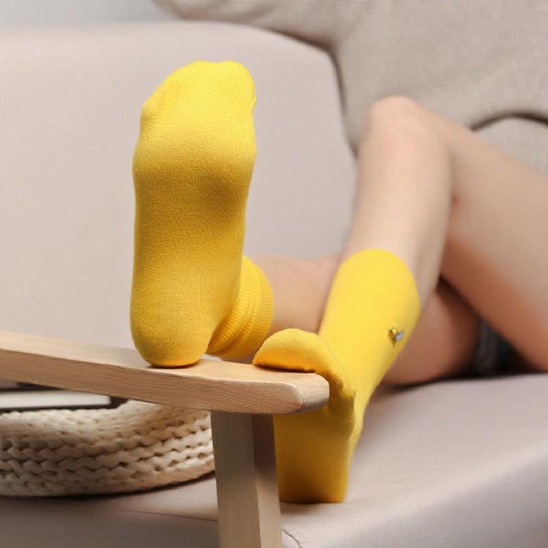 Yellow Banana Socks