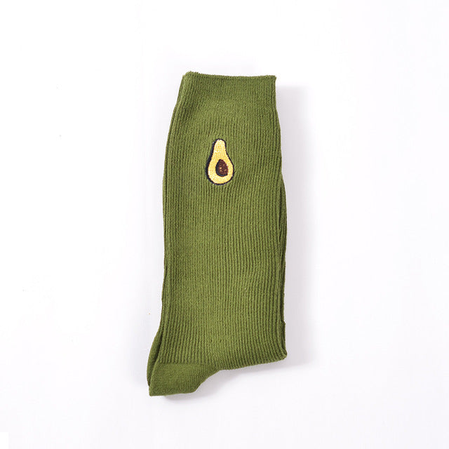 Green Avocado Socks