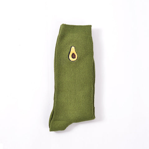 Image of Green Avocado Socks