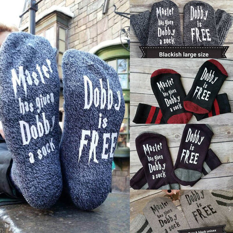 Image of Women Wine Socks Print Letter Cute Autumn Spring Meia Funny Socks 2018 New Arrival Chaussette Femme Winter Warmly Meias