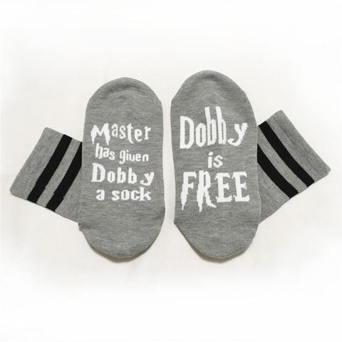 Image of Harry Potter Dobby is Free Socks