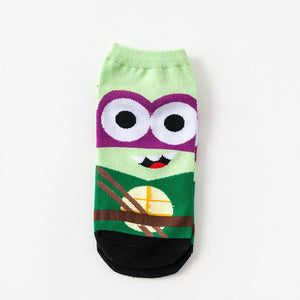 TMNT Ninja Turtle Socks