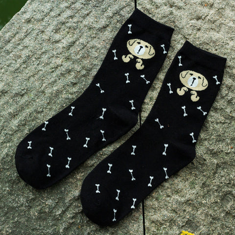 Image of Black Dog Socks