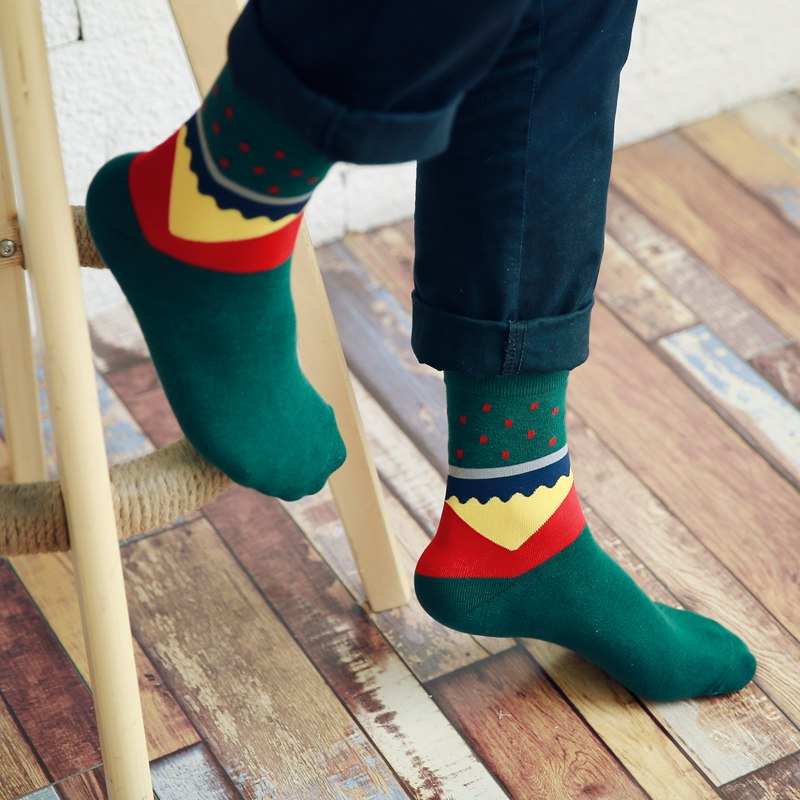 Green Red Socks