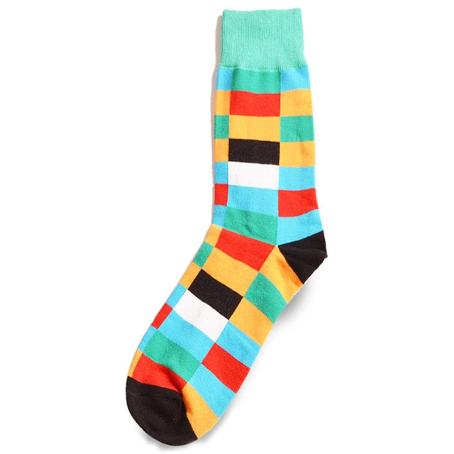 Multicolor Tiles Socks