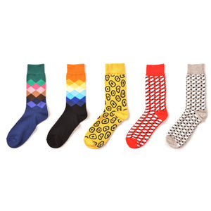 Abstract Socks Gift Box