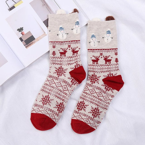 Image of Snowman Socks