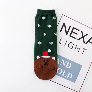 Christmas Bear Socks