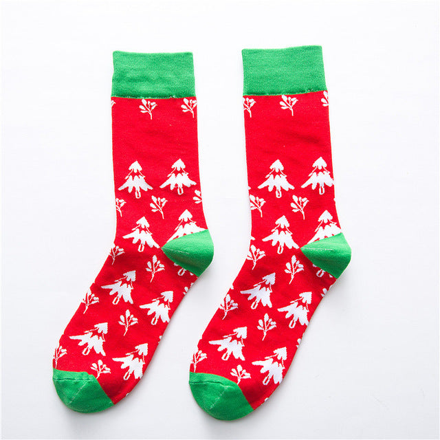 Christmas Tree Socks