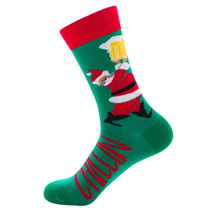 Santa Claus Chillin' Socks