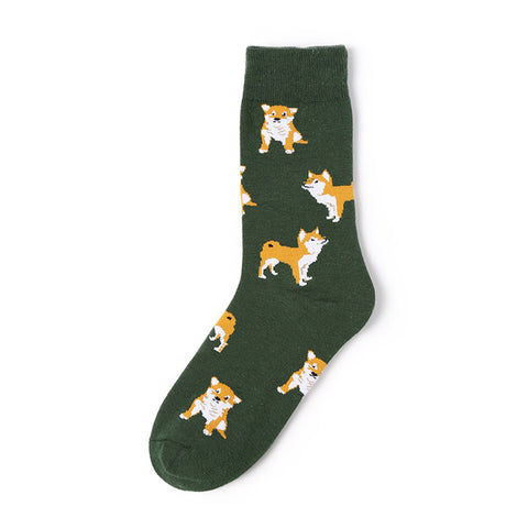 Image of Olive Dog Socks