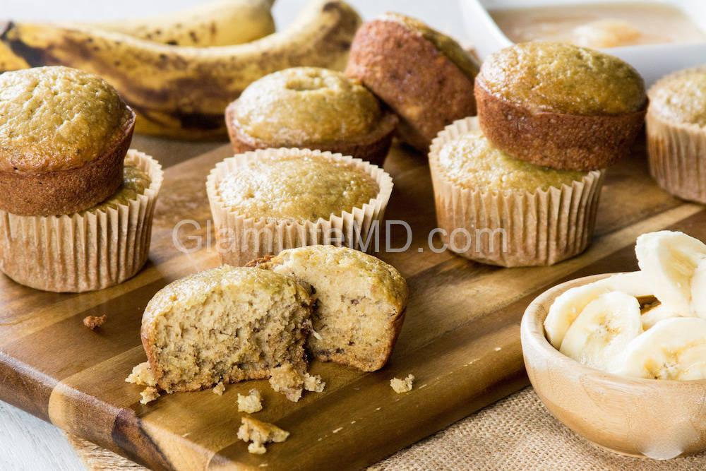 Banana Muffins | Fruity Desserts Recipes