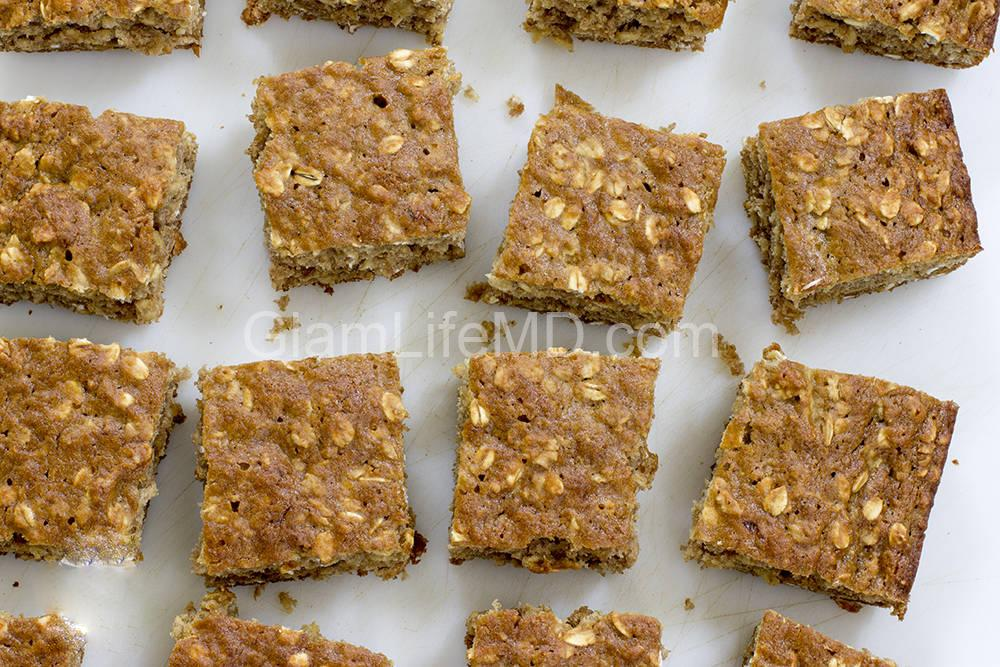 Banana Oat Bars | Fruity Desserts Recipes