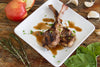 Apple Balsamic Marinated Grilled Lamb