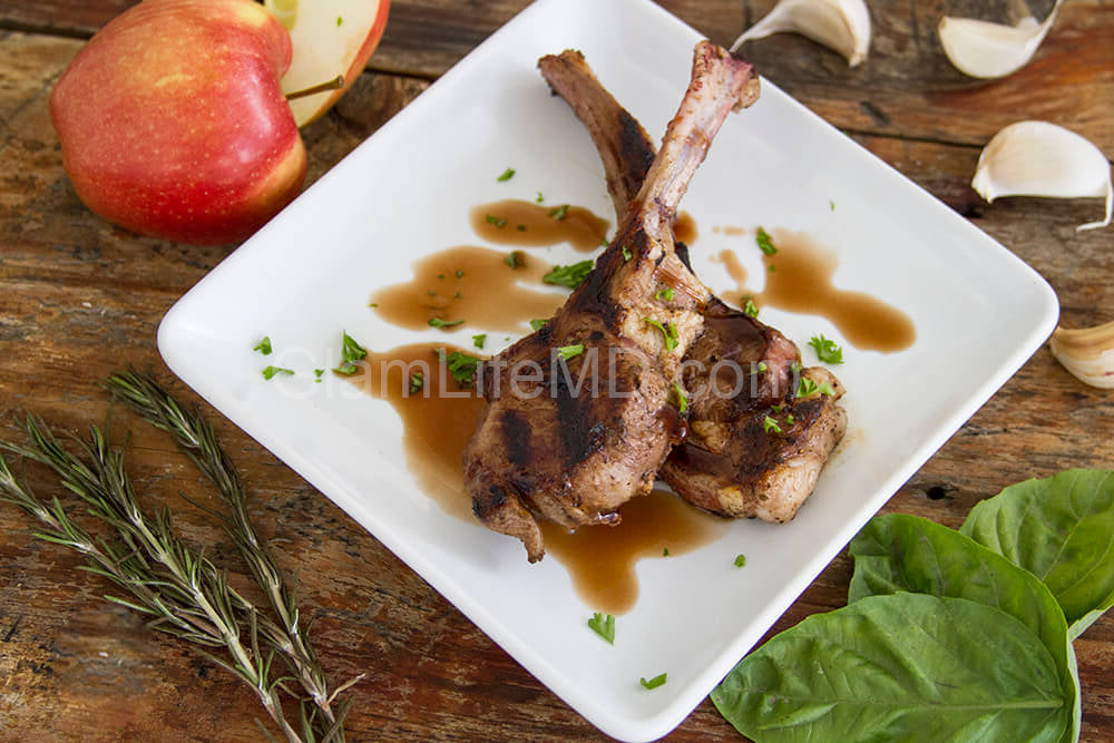 Apple Balsamic Marinated Grilled Lamb | Myfitnesspal Recipes Breakfast