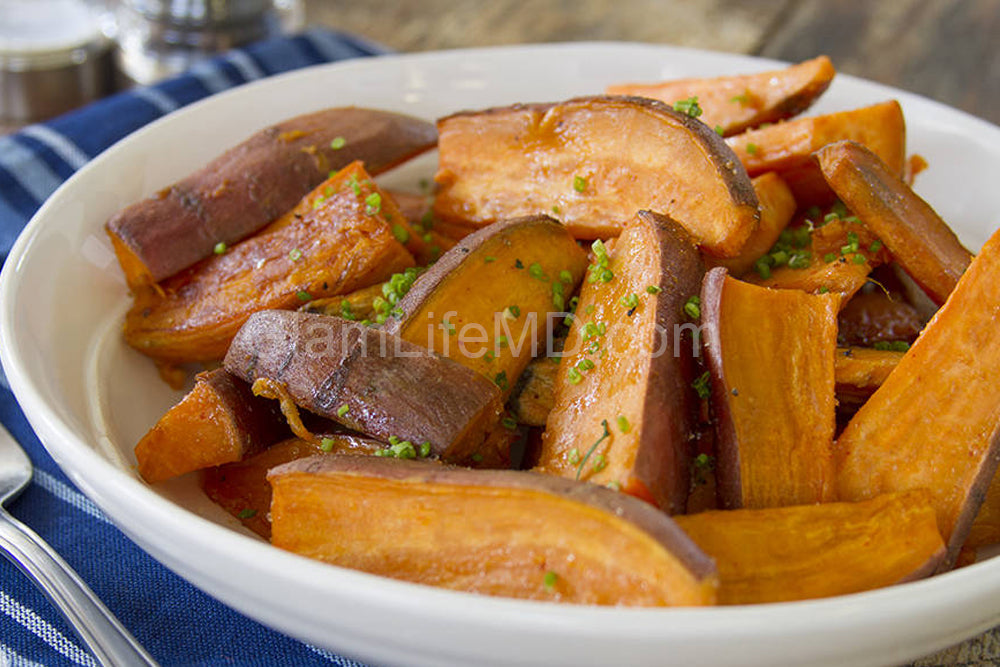 BBQ Salt Sweet Potatoes | Recipes For Sides Dishes
