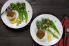 Baked Cod with Broccolini Almondine | Bakes Dinner Recipes