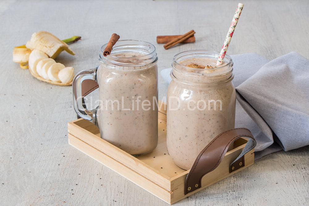 Banana Chai Smoothies | Breakfast Recipes Healthy Easy