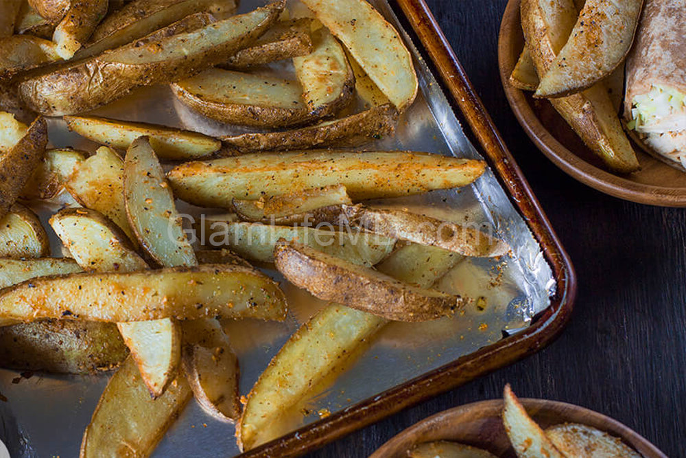 Blazin' Buffalo Potato Wedges | Table Sides